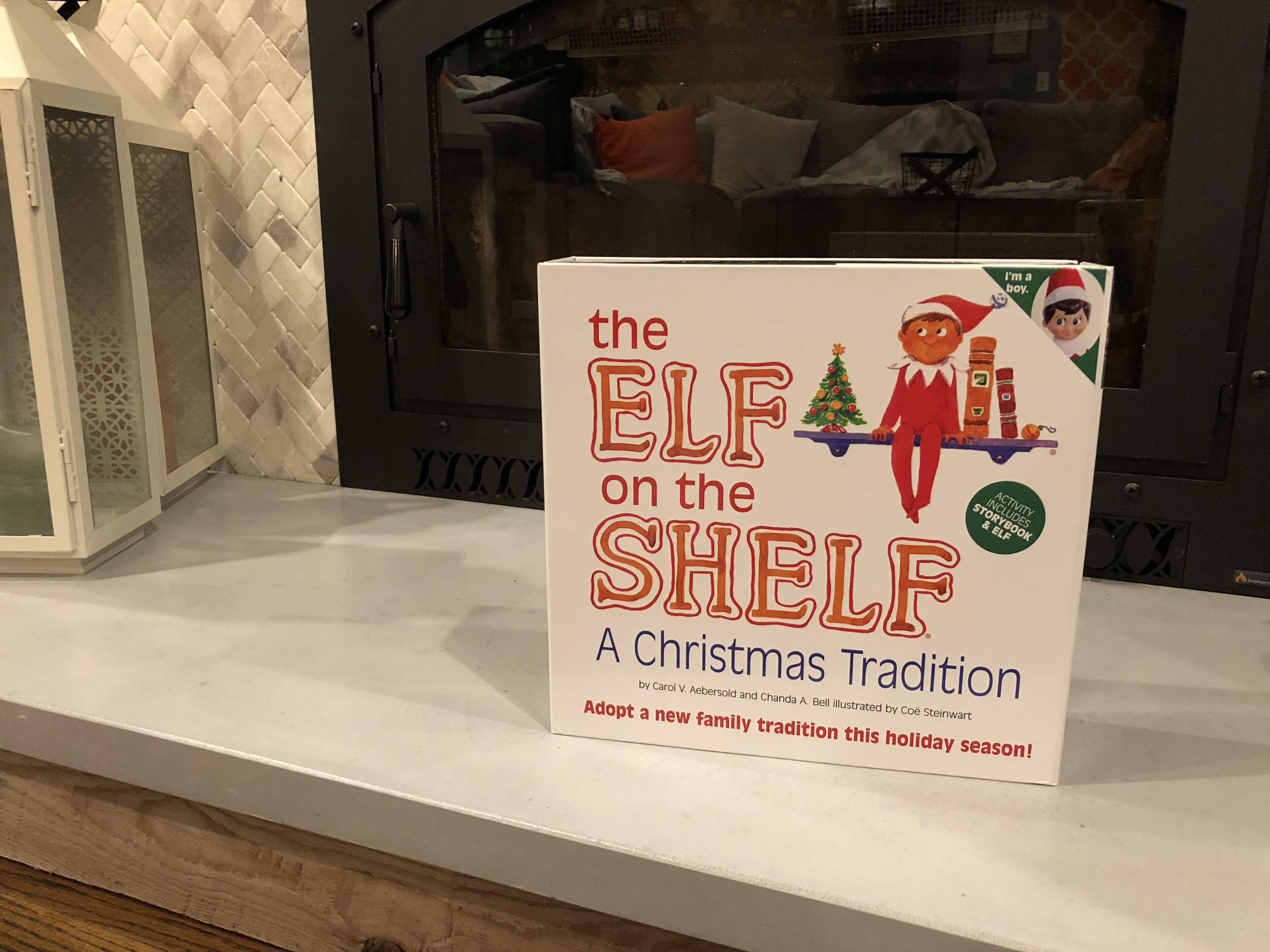 Kids and Elf on the Shelf