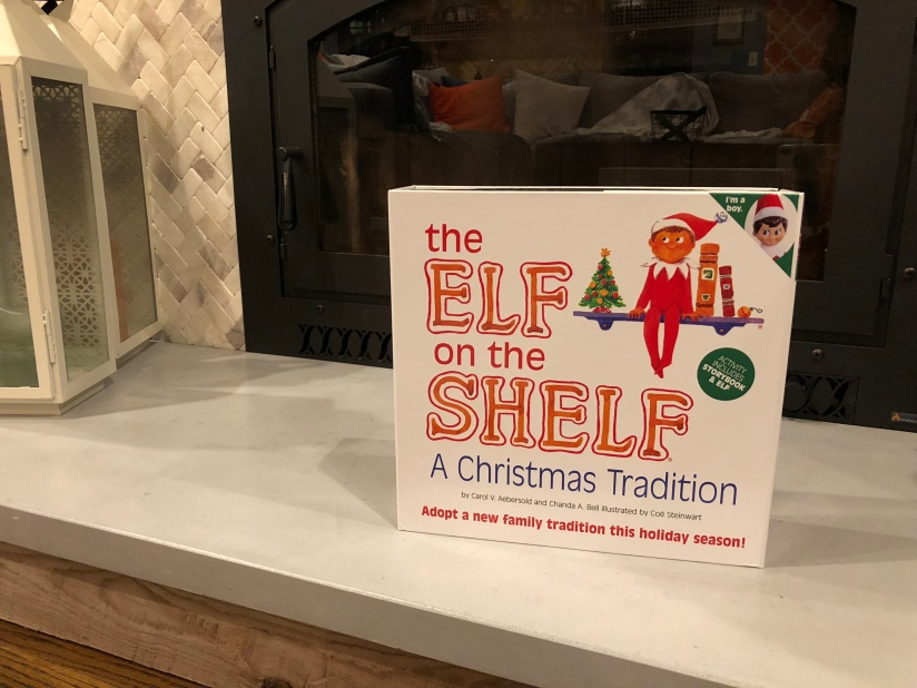 Kids and Elf on the Shelf